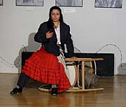 Kamila Kalousová v roli Drany