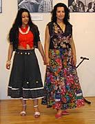 Přehlídka romských oděvů Luminita tančí (Foto: Jana Šustová)
