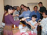 Ochutnávka romských jídel (Foto: Jana Šustová)