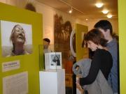 Na výstavě Čalo voďi v Muzeu romské kultury (Foto: Jana Šustová)