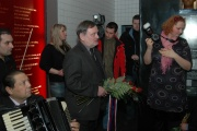 Ombudsman Pavel Varvařovský při pietním aktu v MRK (Foto: Jana Šustová)