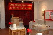 Výstava o Svazu Cikánů-Romů v Muzeu romské kultury v Brně (Foto: Jana Šustová)