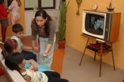 Stará televize a filmové dokumenty o činnosti Svazu Cikánů-Romů (Foto: Jana Šustová)