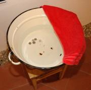 Romové se o Vánocích omývají v penízkové vodě (Foto: Jana Šustová)