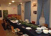 Vánoční stůl (Foto: Jana Šustová)