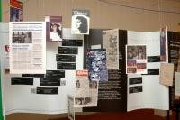 Ukázky z romských médií (Foto: Jana Šustová)