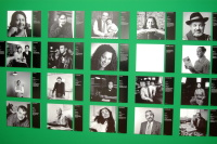 Portréty romských novinářů (Foto: Jana Šustová)
