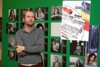 Kurátor výstavy Michal Schuster (Foto: Jana Šustová)