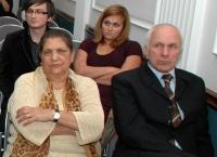 Olga Fečová a ředitel Základní školy Boleslavova v Praze Jaroslav Fantura (Foto: Jana Šustová)
