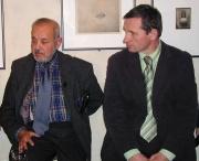 Karel Holomek a Jiří Čunek na besedě (Foto: Jana Šustová)