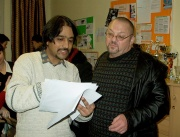 Kumar Vishwanathan a Ian Hancock (Foto: Gabriela Všolková)