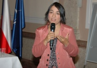 Margita Wagner na semináři Hlasy romských žen (Foto: Jana Šustová)