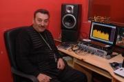Romské nahrávací studio v Brochówě (Foto: Jana Šustová)