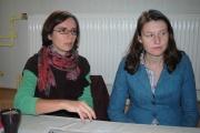 Koordinátorky projektu Anna Kudarewska a Iwona Frydryszak (Foto: Jana Šustová)