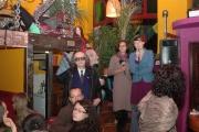 Prezentace studentských prací v kavárně ve Vratislavi (Foto: Jana Šustová)