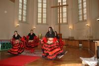 Kulturní vystoupení v evangelickém kostele sv. Salvátora (Foto: Jana Šustová)
