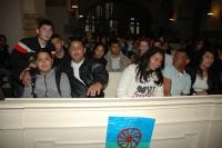 Romové v evangelickém kostele U Salvátora v Praze (Foto: Jana Šustová)