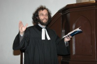 Evangelický farář Mikuláš Vymětal (Foto: Jana Šustová)