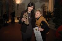Čerstvé laureátky Ceny Roma Spirit - redaktorka Iveta Demeterová a romistka Eva Davidová (Foto: Jana Šustová)