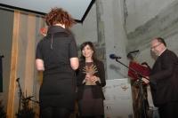 Redaktorka pořadu O Roma vekeren Iveta Demeterová získala cenu Roma Spirit (Foto: Jana Šustová)