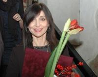 Redaktorka romského vysílání Českého rozhlasu Iveta Demeterová získala Cenu Roma Spirit za rok 2014 (Foto: Jana Šustová)