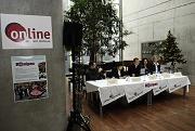 Tisková konference k fotosoutěži Romipen (Foto: Hynek Bulíř)