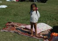 Romská holčička z Rumunska (Ilustrační foto: Jana Šustová)
