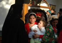 Romové u ostatků sv. Řehoře Decapolity (Foto: Jana Šustová)