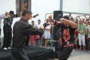 Po koncertu mohli na pódiu tančit i vězni (Foto: Jana Šustová)