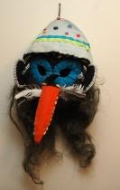 Maska Cikána vyrobená v Bukovině (Foto: Jana Šustová)