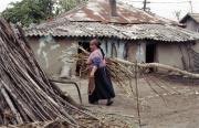 Žena romského kováře v rumunské vesnici Stefanesti (Foto: Michaela Janoch)