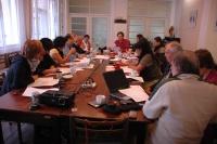 První překladatelská dílna v rámci projektu Prethodžipen - Překlad se uskutečnila v Rokycanech (Foto: Jana Šustová)