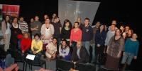 Romští vysokoškoláci z Česka na setkání v pražském divadle D 21 (Foto: Jana Šustová)