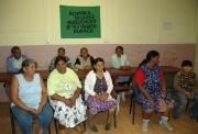Romské ženy v komunitním centru v Markušovcích (Foto: Jana Šustová)