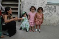 Romské holčičky na Slovensku (Ilustrační foto: Jana Šustová)