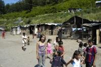 Roma-Siedlung in Slowakei
