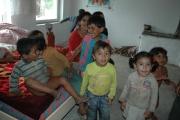 Děti z romské osady Rudňany (Foto: Jana Šustová)