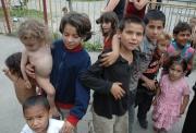 Romské děti na Slovensku (Foto: Jana Šustová)