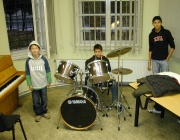 Učebna hudební výchovy v RKC Liberec (Foto: Jana Šustová)