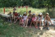 Děti na táboře dostaly nanuk (Foto: Jana Šustová)