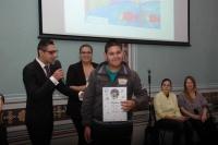 Chlapec oceněný v soutěži Romano suno (Foto: Jana Šustová)