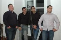 Skupina Le čhavendar při představení knihy Paťiv. Ještě víme, co je úcta (Foto: Jana Šustová)