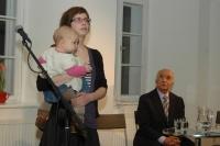 Ilustrátorka Zuzana Mašková při představení knihy Paťiv. Ještě víme, co je úcta (Foto: Jana Šustová)