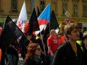 Worker's Party of Social Justice in Brno (Photo: Ivan Holas)