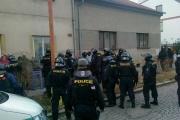 Incident v Husově ulici. Krátce před 17. hodinou (Foto: Jiří Fremoth)