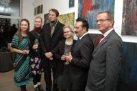 Vernisáž výstavy Severní tango finského Roma Veijo Baltzara (Foto: Jana Šustová)