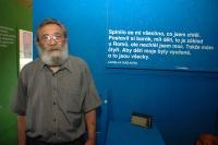 Jeden z romských pamětníků zapojených do výstavy Khatar san? Ladislav Dudi Koťo (Foto: Jana Šustová)