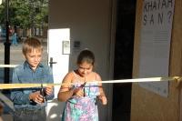 Přestřižení pásky k výstavě (Foto: Jana Šustová)