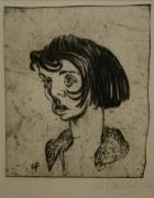 Otto Pankok: Gaisa (Broušení. Ludwig Gallery Oberhausen)