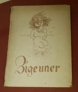 Kniha Zigeuner - Cikán, 1947 (Foto: Jana Šustová)